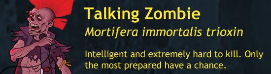 Talking Zombie